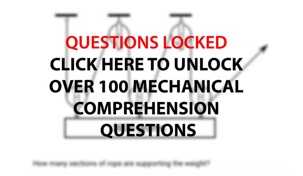 Mechanical Comprehension Practice Questions and Answers