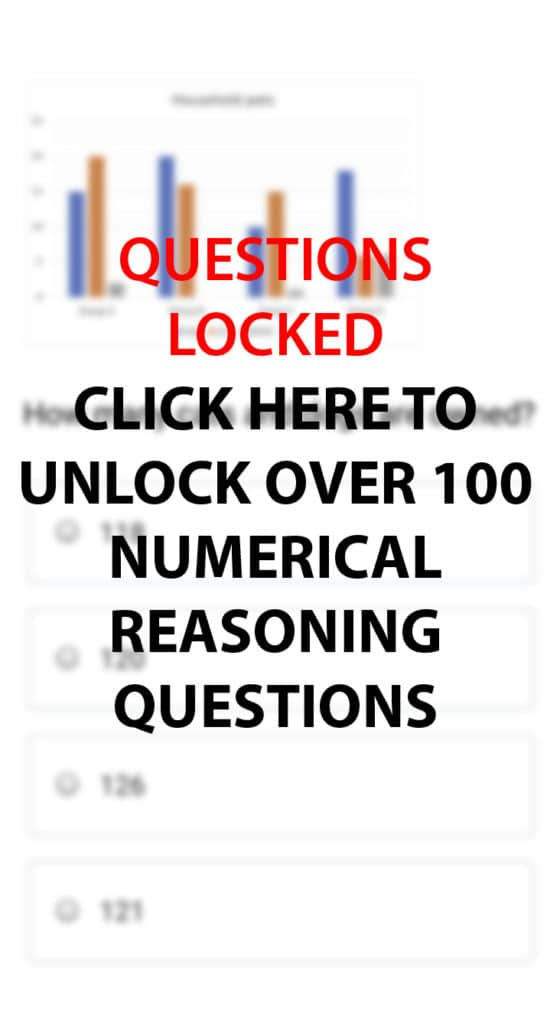 Numerical Reasoning Practice Questions and Answers