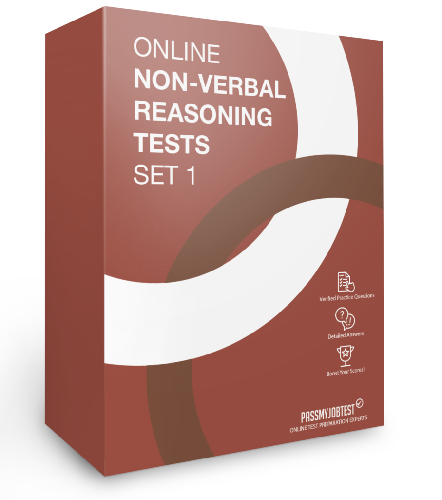 Online Non-Verbal Reasoning Test Questions Set 1