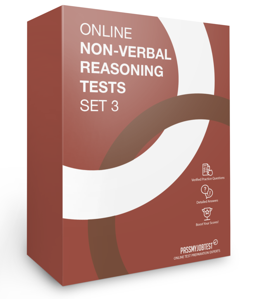 Online Non-Verbal Reasoning Test Questions Set 3