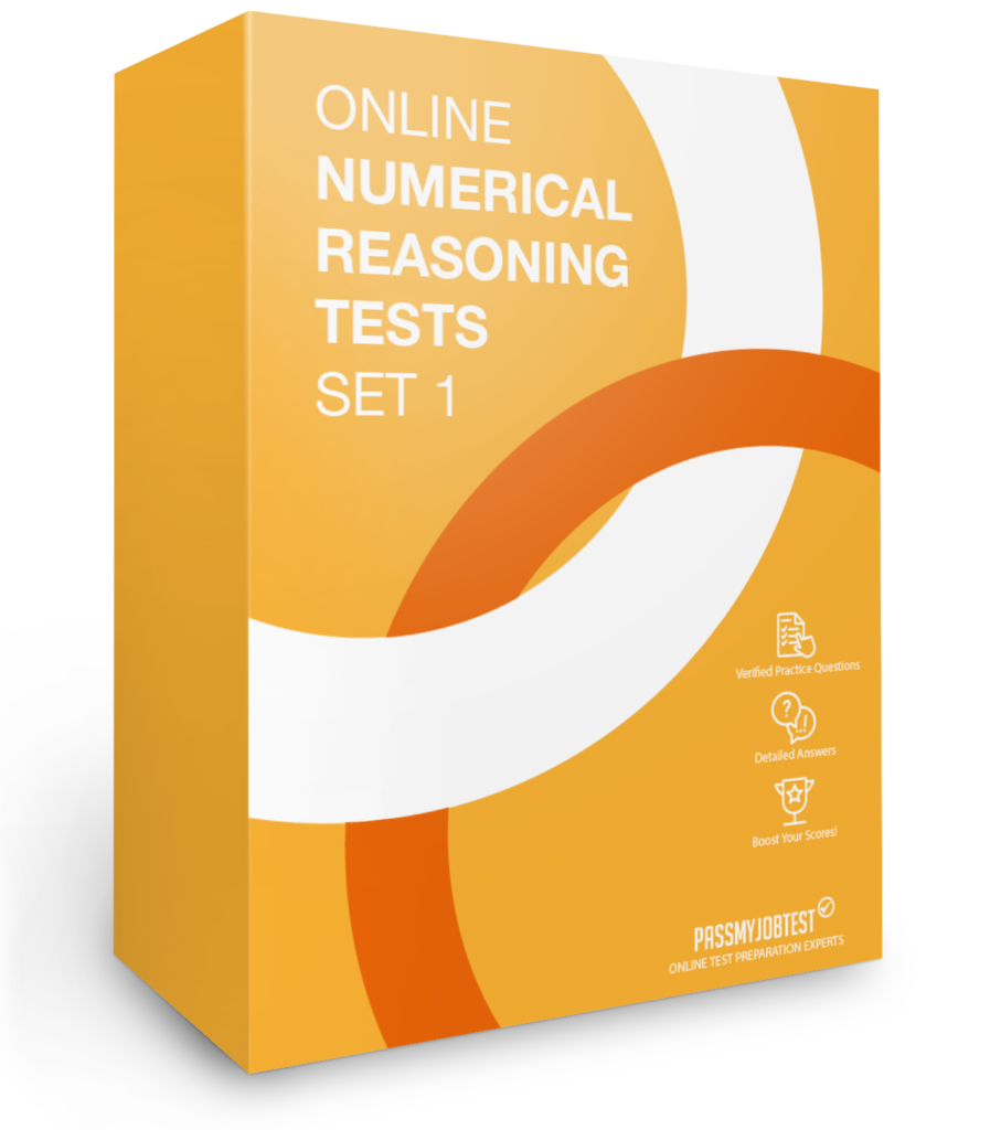 Online Numerical Reasoning Test Questions Set 1