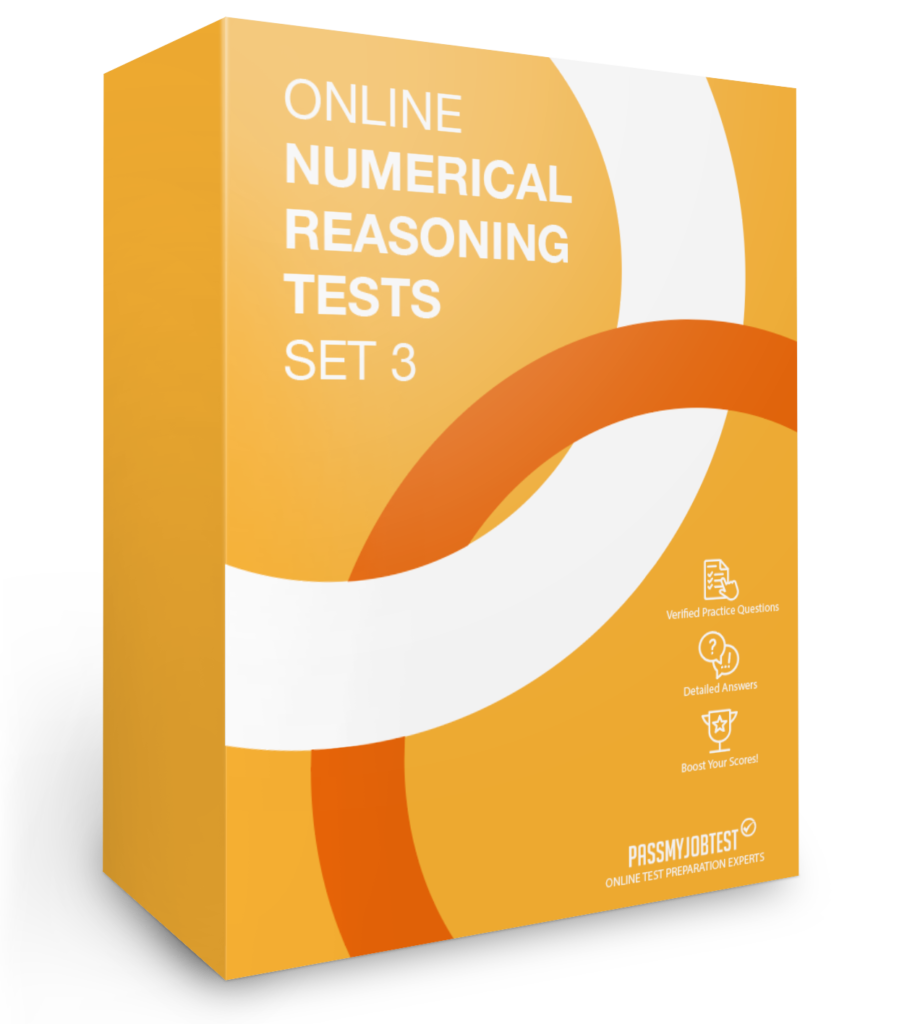 Online Numerical Reasoning Test Questions Set 3