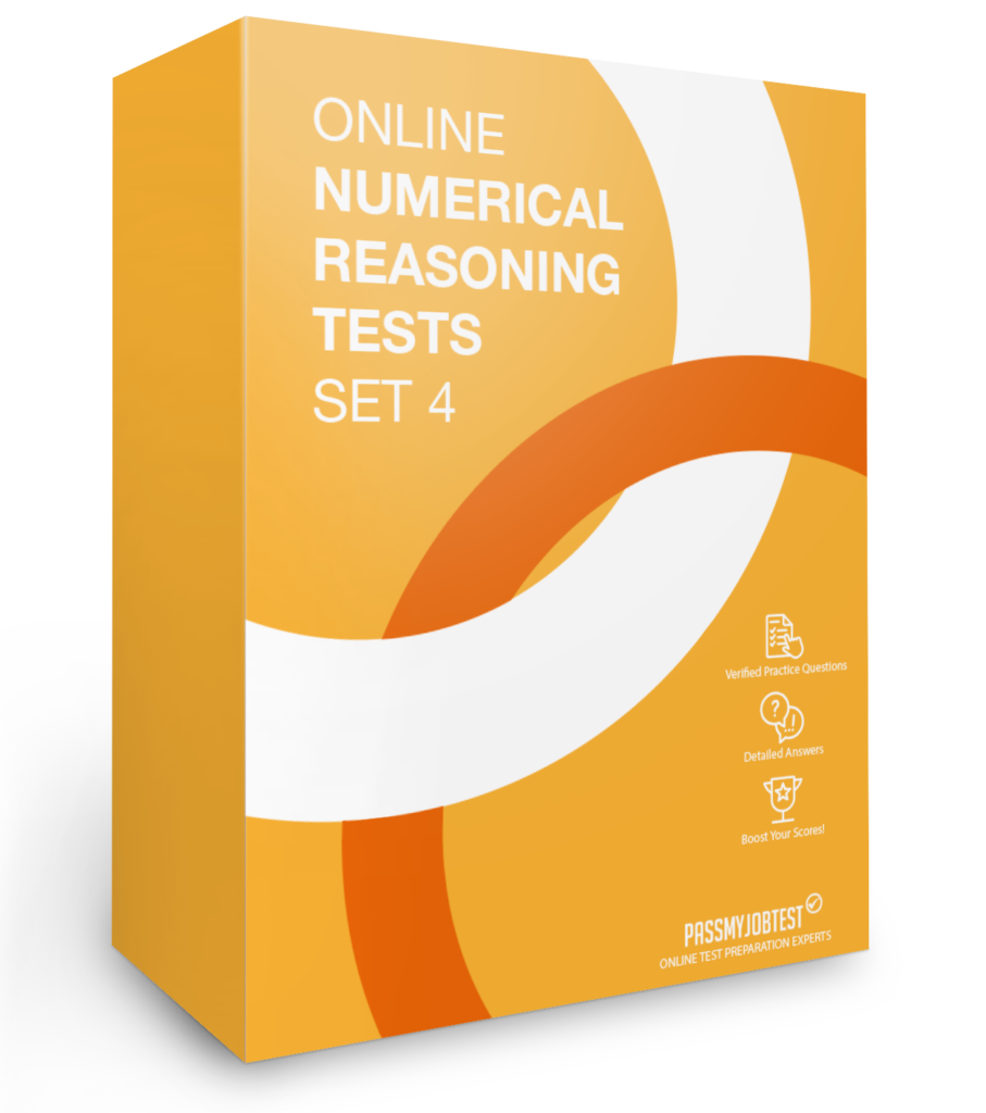 Online Numerical Reasoning Test Questions Set 4