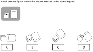 Spatial Reasoning Example Question - Aptitude Tests