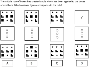 Abstract Reasoning Example Question 06