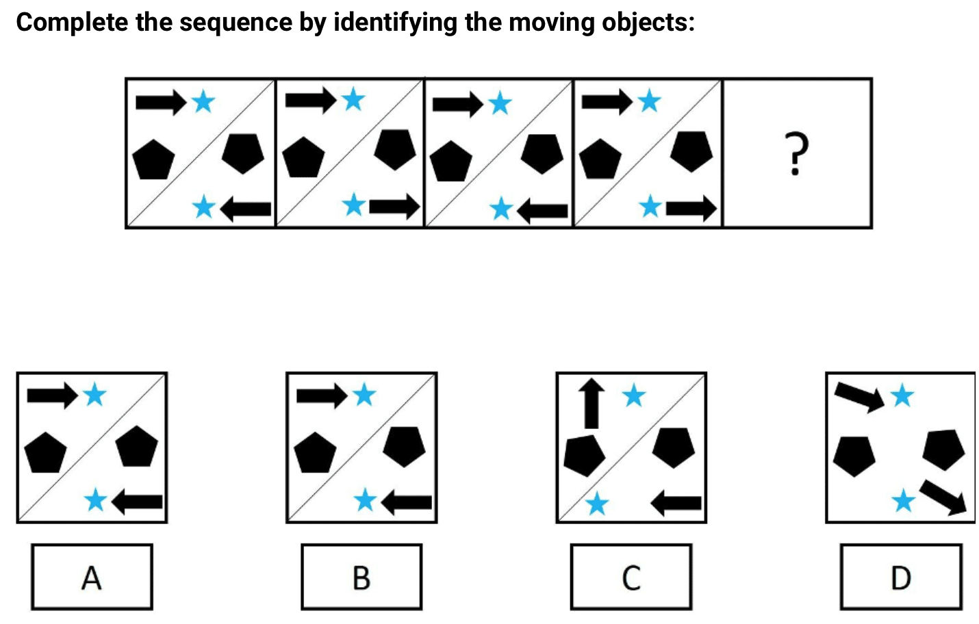 Abstract Reasoning Sample Practice Question
