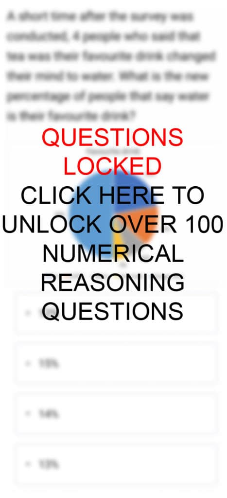 Graph Numerical Reasoning Practice Questions and Answers Mobile