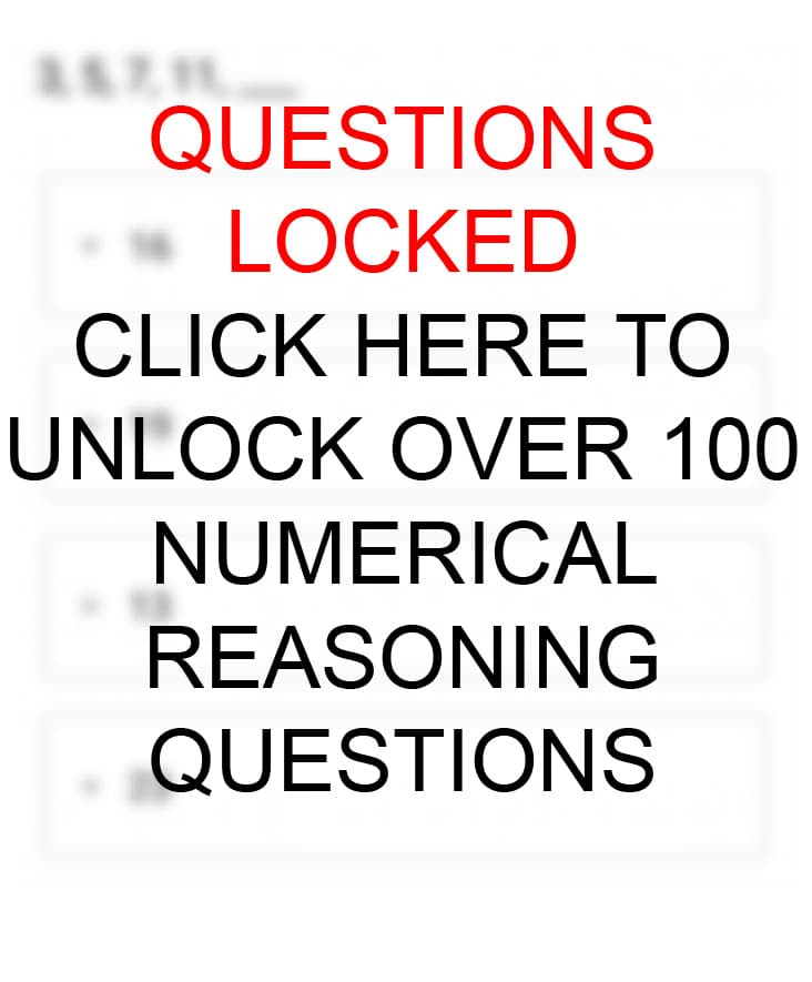 Sequence Numerical Reasoning Practice Questions and Answers Mobile