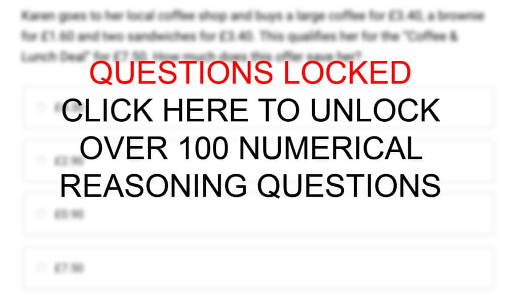Text-Based Numerical Reasoning Practice Questions and Answers